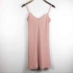 Vintage Babydoll Dress Cocktail Pink ABS 8